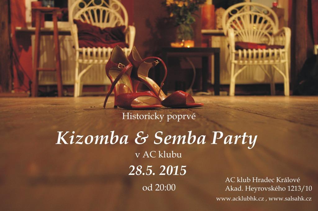 Kizomba a Semba Party 28.5. 2015
