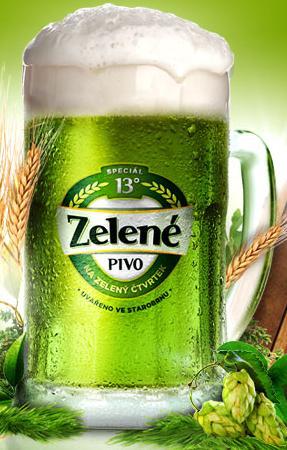 Zelene pivo