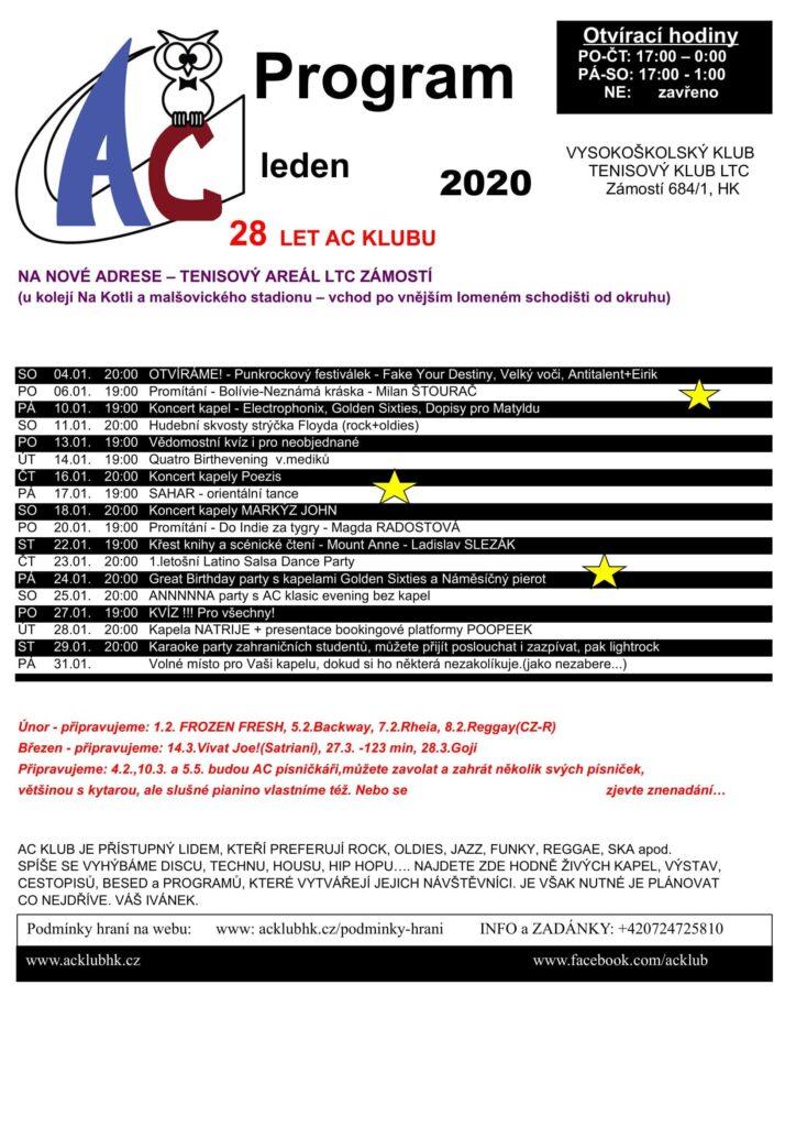 Program AC leden 2020