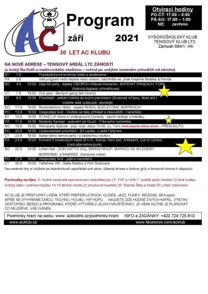 Program AC úprava